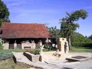 Domaine de La Licorne - Fontaine centrale